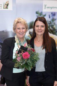 Vorstandskandidatin Andrea Toppheide und Anke Knaup